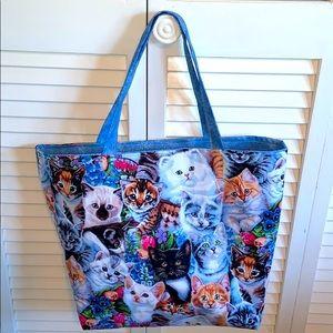 HP 🔥 Adorable Kitties All Purpose Tote Bag